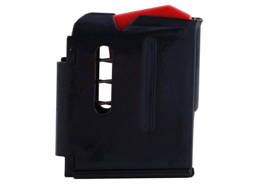 This is a 5 round factory magazine for the Savage 90 or 93 chambered in 17 HMR or 22 WMR.