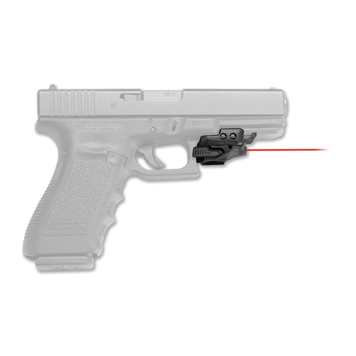 """This is a Crimson Trace Laser for any full size picatinny/weaver rail. Named the """"Rail Master"""" this laser seemlessly integrates a red laser on to any firearm with a standard picatinny/weaver rail. Part number CMR-201."""
