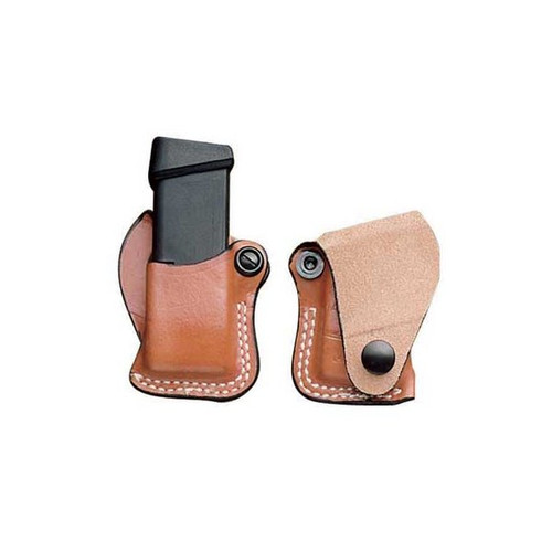 This magazine holster fits: Glock: 17, 19, 22, 23; HK: USP CPT 9/40, P2000, P2000SK; Para: P13, P14; Sig: Mauser M2
