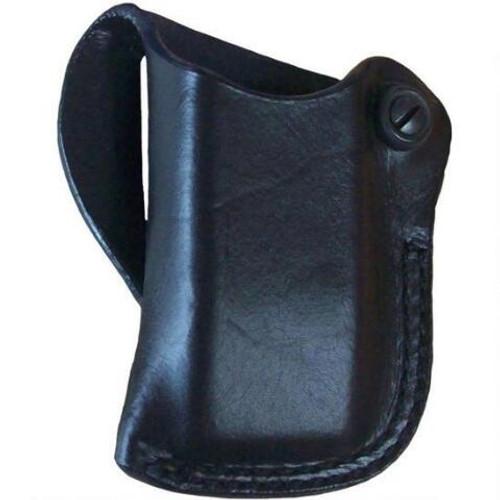 This magazine holster fits: Glock: 26, 27, 33, 39; Para: P10, P12; Beretta: 9000S