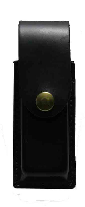 This magazine pouch fits: most short & long single column 9mm and 40sw.