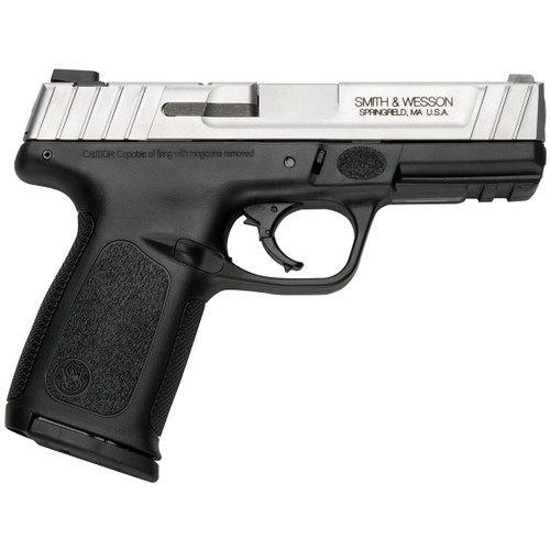 This is a Smith & Wesson SD9VE 9mm. Comes with (2) 16 round magazines.