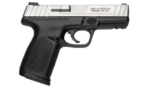 This is a Smith & Wesson SD40VE 40S&W. Comes with (2) 14 round magazines.