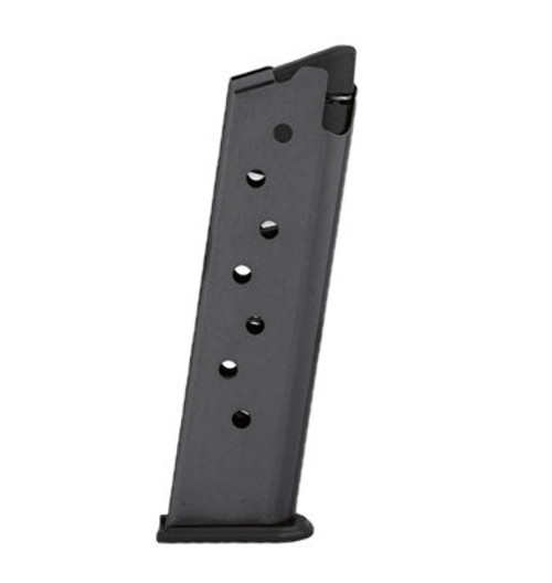 This is a factory Browning magazine for the 1911 .380 acp with a blue finish and has a maximum capacity of 8 rounds.