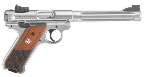 """This is a Ruger Mark IV """"Hunter"""" .22 lr. This is the premium model of the the Mark IV series."""
