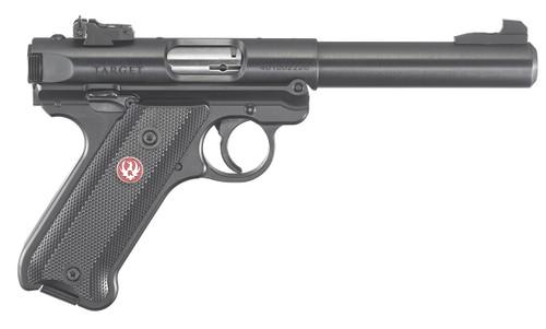 "This is a Ruger Mark IV ""Target"" .22 lr. Model # 40101"