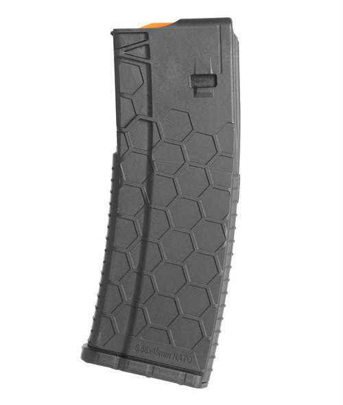 This is a AR-15 magazine .223 / 5.56, 30 round capacity, made by HEXMAG, series 2 magazine.