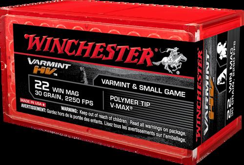 Winchester .22 Magnum 30 Grain V-Max HV