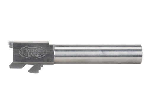 This is a drop-in Glock conversion barrel for the model 23 to 9mm, made by Storm Lake.