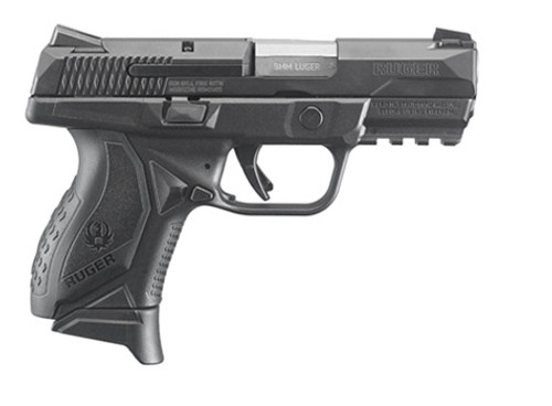 This is a Ruger American Pistol 9mm Compact.