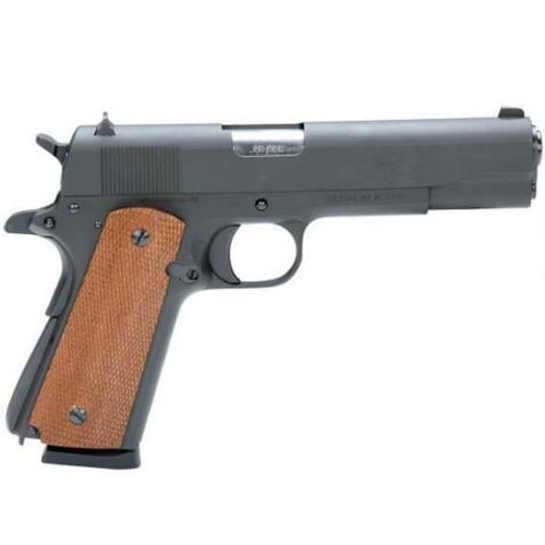 This is a American Tactical 1911 chambered in .45 acp.