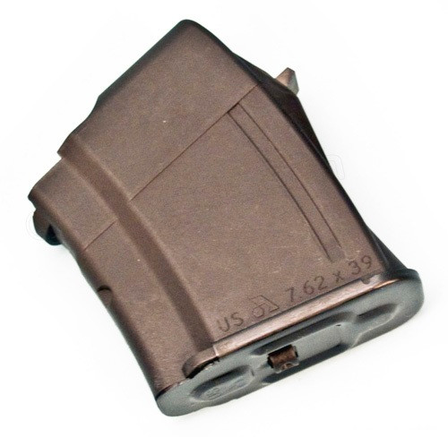 This is a 10 round AK-47 magazine 7.62x39mm, made by Arsenal.