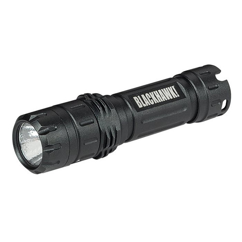 This is a Blackhawk flashlight, it is known as the Night-Ops Ally L-1A2.