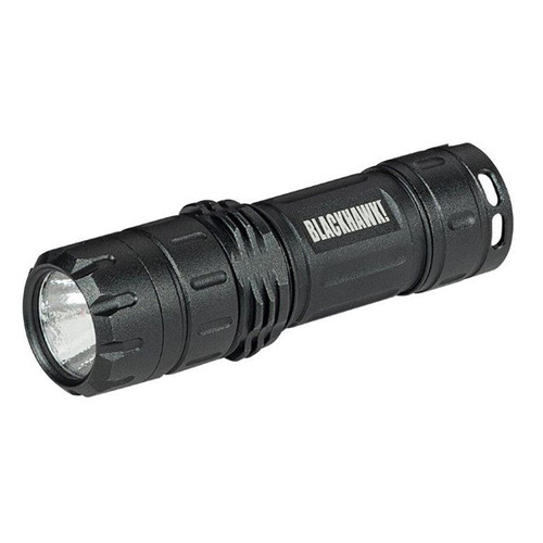 This is a Blackhawk flashlight, it is known as the Night-Ops Ally L-3V.