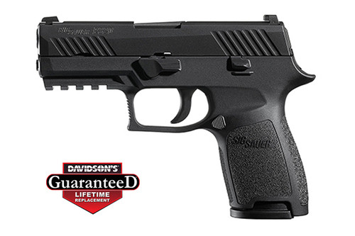This is a Sig Sauer P320 9mm, Nitron finish, compact. Comes with (2) - 17 rd magazines.