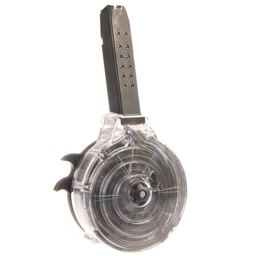 This is a Glock drum for any 40 s&w, 50 round capacity, made in Korea.