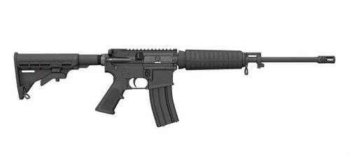This is a Bushmaster AR-15 5.56 - QRC (Quick Response Carbine) rifle chambered in 5.56 Nato. This model comes optic ready for whatever sights work best for you!