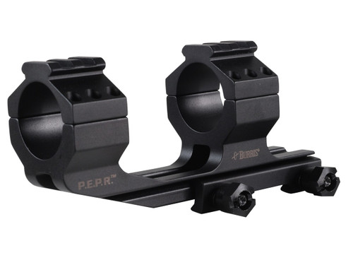 This is a Burris P.E.P.R. 1-piece scope mount for scopes with a 30mm diameter.