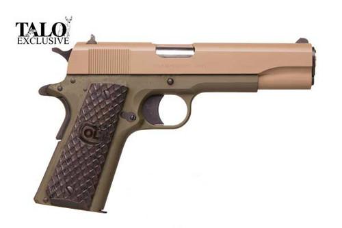 1911 Colt .45acp  - Government 1991 - OD/FDE Talo