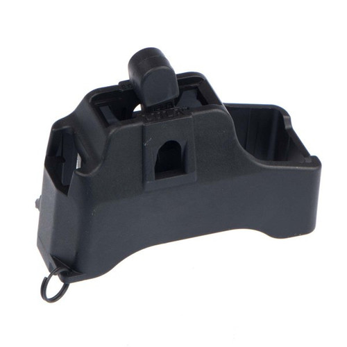 This is a magazine loader for SR-25 / PMAG / DPMS pattern .308 magazines. Named LULA made by Maglula.