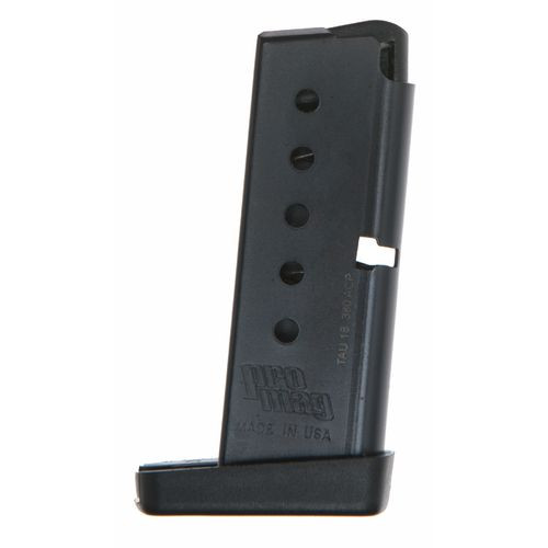 This is a 6 round magazine for the Taurus PT 738 TCP .380, made by Pro Mag.