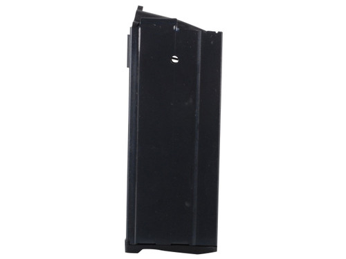 This is a 20 round magazine for the Ruger Mini-14 6.8mm, made by ProMag.