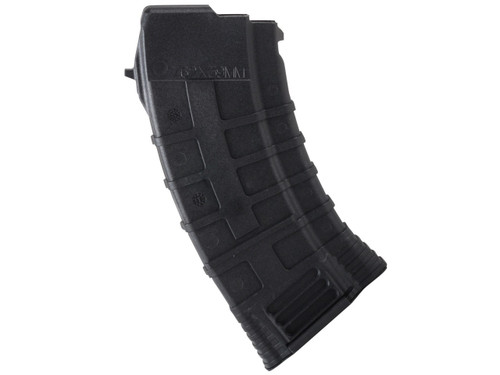 This is a AK-47 magazine 7.62x39mm. It has a maximum capacity of 20 rounds and was made by Tapco.