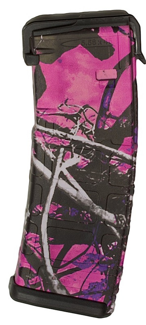 """This is a AR-15  magazine .223 / 5.56 30 round with the """"Muddy Girl"""" design, by Matrix Diversified Industry (MDI)."""