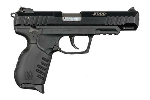 "This is a Ruger SR22 .22 lr, extended barrel. This model has a 4.5"" barrel compared to the 3.5"" the original SR-22 has."