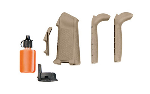 This is a genuine Magpul MIAD Grip that will fit on your AR platform. Will fit both AR-15 and AR-10 platforms, Flat Dark Earth.