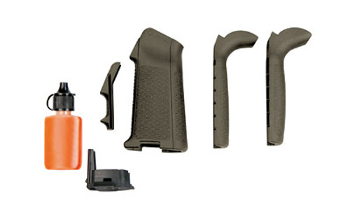 This is a genuine Magpul MIAD Grip that will fit on your AR platform. Will fit both AR-15 and AR-10 platforms, OD (Olive Drab) Green.
