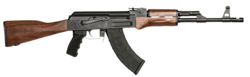 This is a Century Arms C93V2 AK-47 Rifle chambered in 7.62 x 39mm. Comes fitted with walnut furniture.