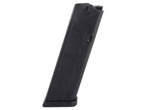 This is a factory Glock magazine for the G17 9mm (will also fit models 19 and 26), 10 round capacity, 2nd Gen.