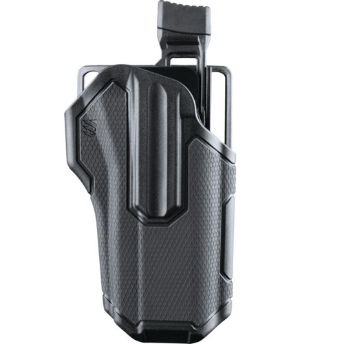 Blackhawk Omnivore Non-Light Bearing Holster. Fits more than 150 different models. This holster does not wear finish on your firearm due to unique rail locking system.