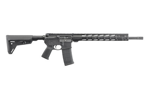 New Ruger AR-556 MPR (Multi Purpose Rifle), With full length M-lok rail system hand guard. Comes standard with Ruger designed muzzle break and upgraded trigger package (Elite 452 AR- Trigger).