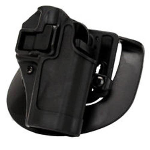 Blackhawk Serpa concealment holster.  Featuring Serpa locking features.