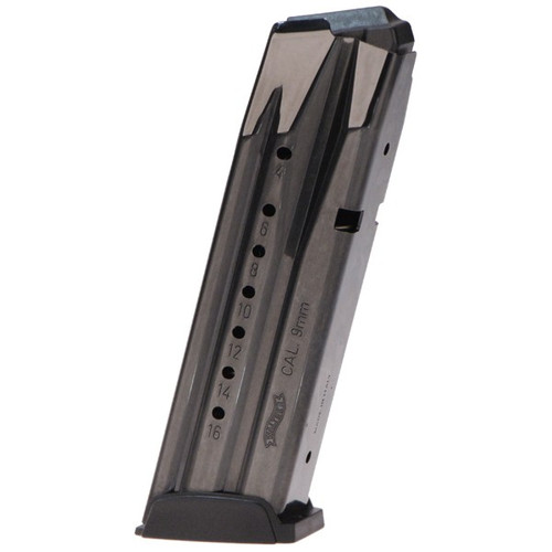 This is a factory Walther magazine for the Creed/PPX 9mm, 16 round capacity.