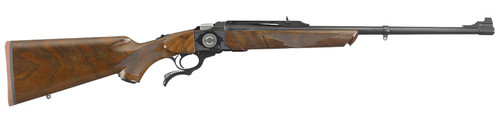 This is a Ruger lever action No.1 chambered in 308 winchester. This special edition firearm is a 50th anniversary of Ruger's No. 1. It will feature a high-grade American Walnut stock, with a limited production of only 1000 units.