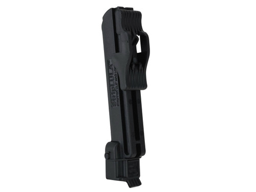 This is a magazine loader for Ruger Mini-14 .223 magazine. Named STRIPLULA made by Maglula.