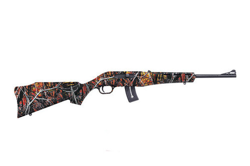 Mossberg Blaze chambered in 22 LR with Wild Fire Camouflage