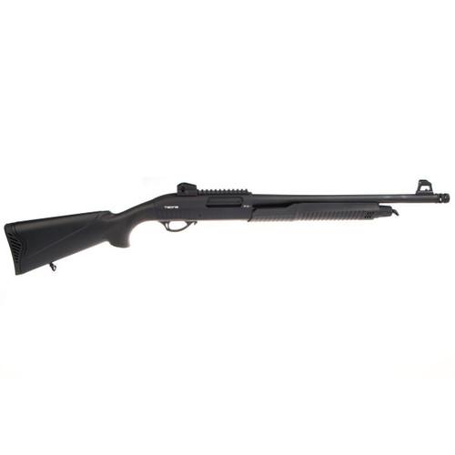 Zenith Tedna P12T 12GA Shotgun with external knurled breach choke