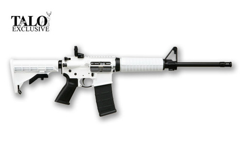 This is a Ruger AR-556 Rifle chambered in 5.56 NATO.