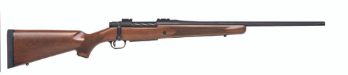 This is a Mossberg Patriot with a classic walnut stock. Chambered in 7mm Rem Mag.