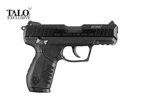 This is a Ruger SR22 .22 lr. 3 Magazines