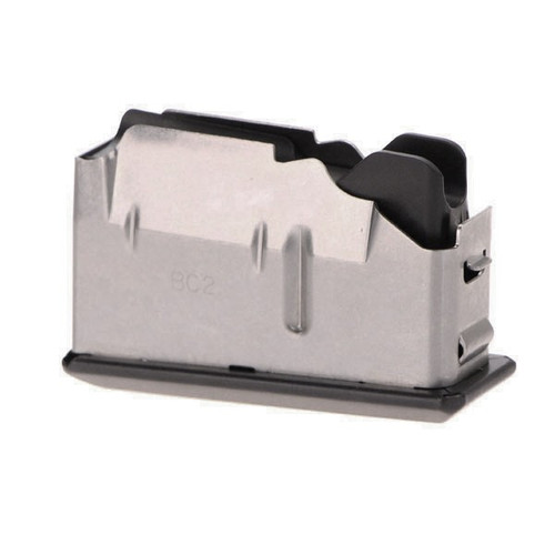 This magazine fits a FNH PBR/SPR/PSR/TSR .308 and has a maximum capacity of 4 rounds.