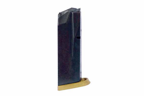 This is a 10 round factory magazine for the Smith & Wesson M&P 45. Brown Base