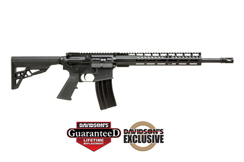 This is a Diamondback AR-15 rifle called the DB15 chambered in 5.56 nato and has a M- Lok rail