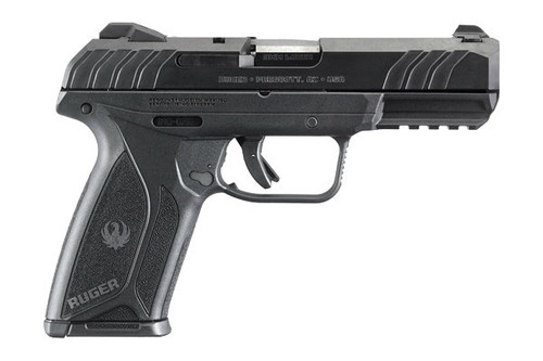 This is a Security 9 chambered in 9mm manufactured by Ruger.