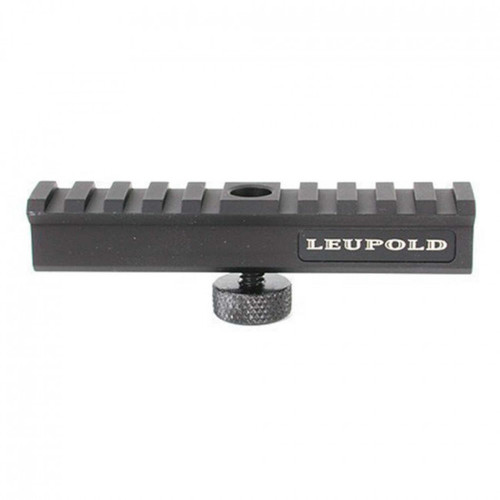 This is a Mark 4 carry handle mount for an AR15 manufactured by Leupold.