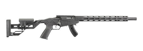This is a Ruger Precision Rifle  chambered in .22 lr.